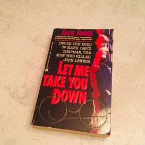 1994 Let me Take you down book mark david chapman